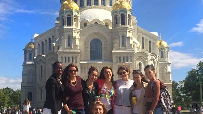 التجول في سان بطرسبرج