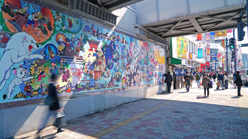 استكشاف طوكيو