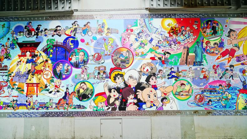 الكتابة على الجدران في طوكيو