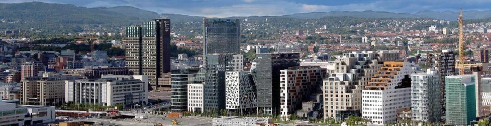 Эскиз видеоролика города Осло