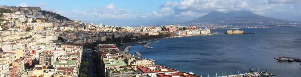 Эскиз видеоролика города Неаполь