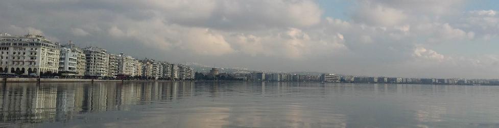 Эскиз видеоролика города Салоники