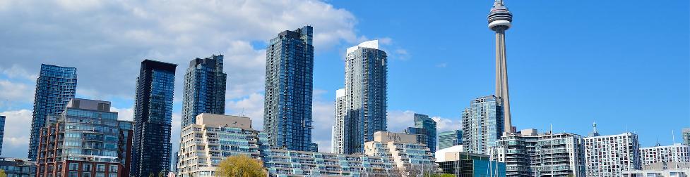 Эскиз видеоролика города Торонто