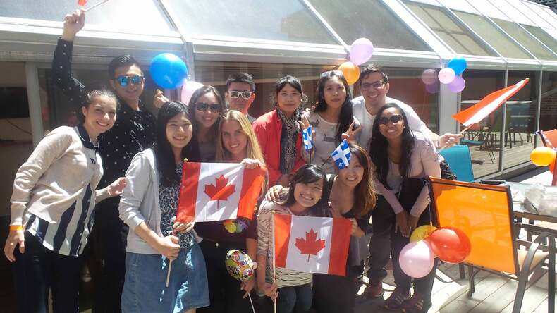 Canada Day in Montreal