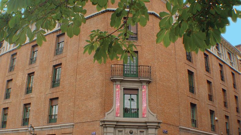Edificio scolastico di Don Quijote a Madrid