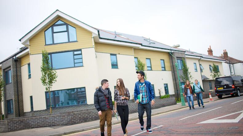 Studenti a Bournemouth