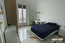 Résidence Gran Via - Salle de bain attenante, Españole International House, Valence