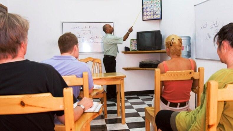 Leçon du Blue Beach Club School Of Arabic Language