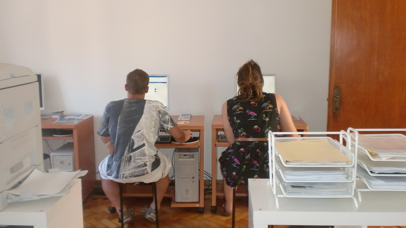 Salle informatique à CIAL