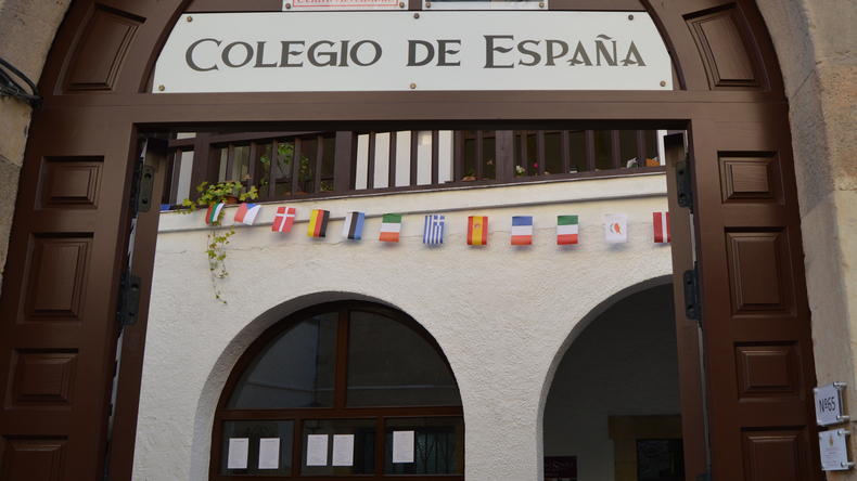 Entrée de l'école Colegio de España