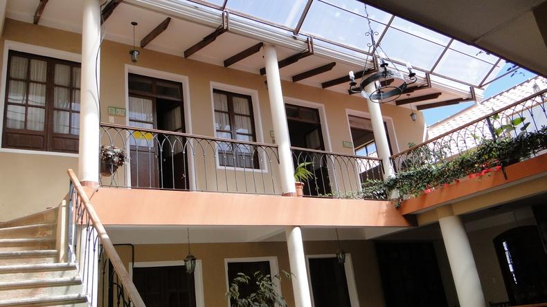Bâtiment scolaire à Sucre