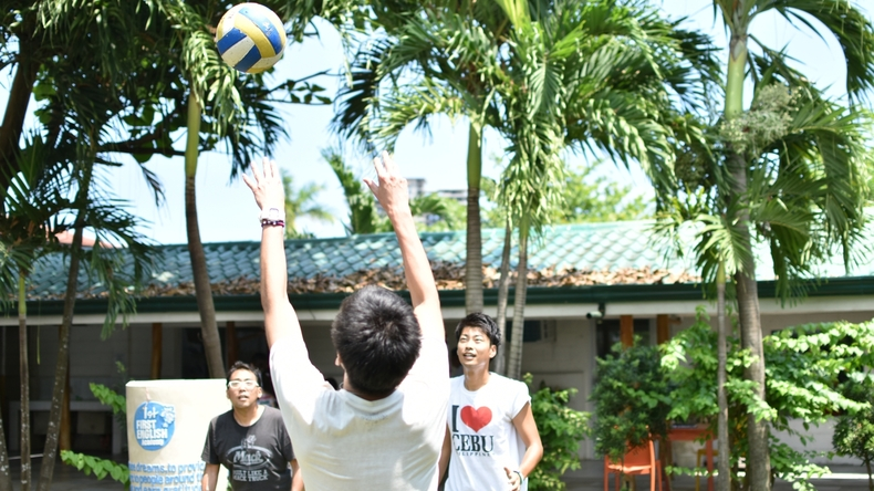 Volley-ball à First English Global College, Philippines