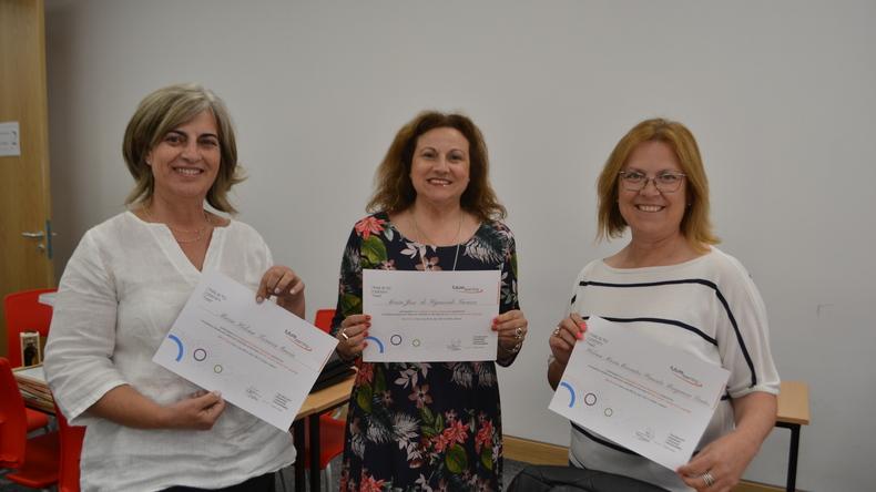 Etudiants avec certificats