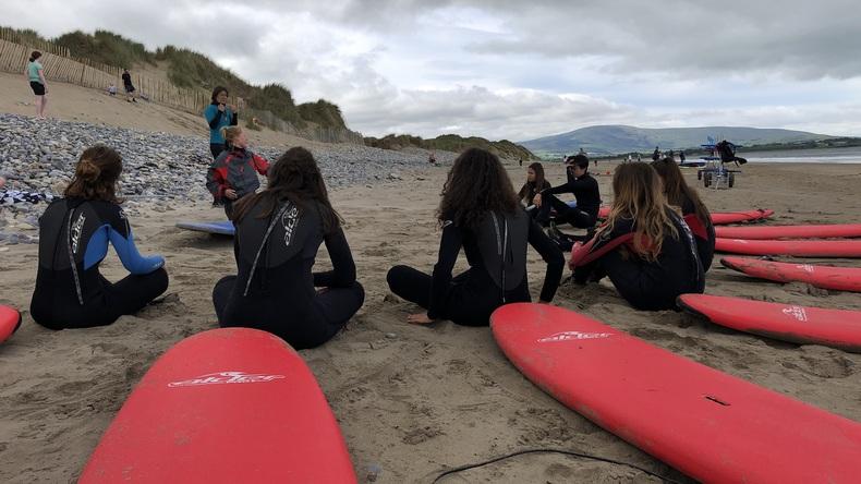 Apprendre à surfer