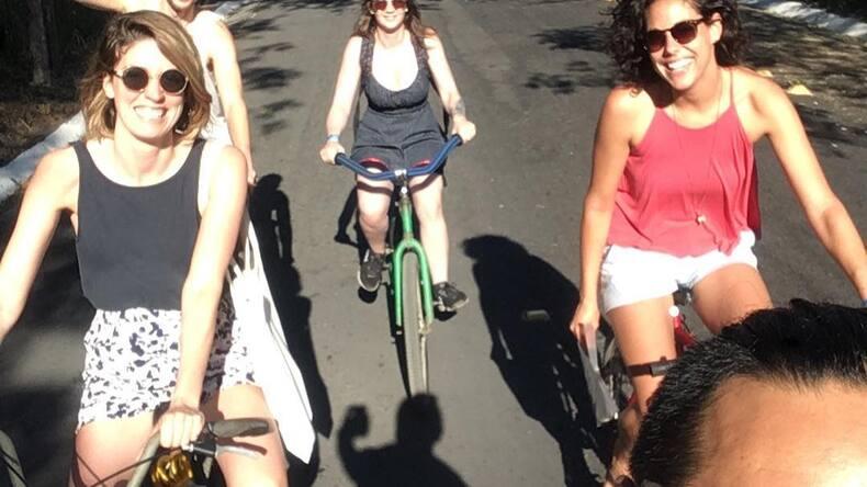 En route pour la Curvinas School, Monterrico