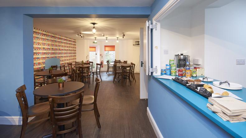 Cafétéria de St Giles Cambridge