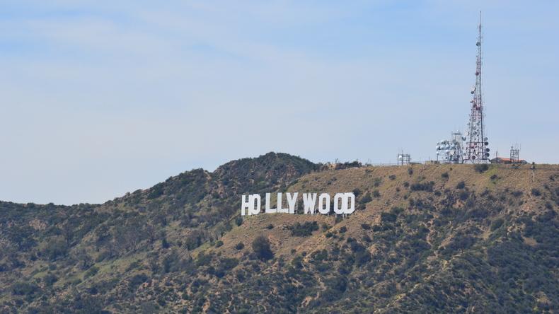 Le signe d'Hollywood