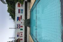 Complejo de vacaciones 3***, Paradise English, Isla Boracay