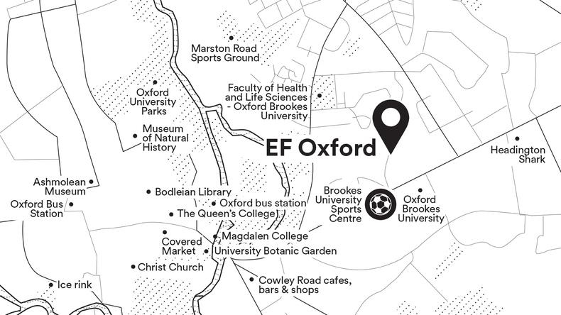 Mapa de Oxford
