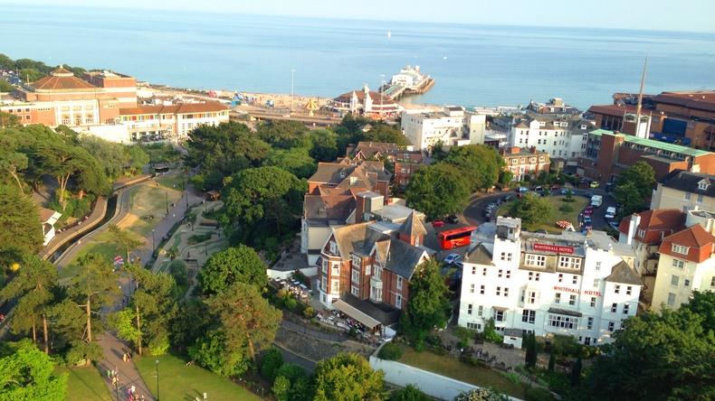 Vistas de Bournemouth