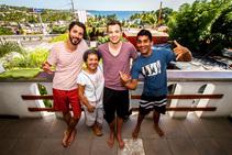 Eksempel på kategori af indkvartering er leveret af Experiencia Spanish & Surf School