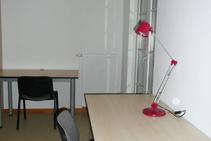 Eksempel på kategori af indkvartering er leveret af F+U Academy of Languages