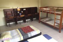 Eksempel på kategori af indkvartering er leveret af First English Global College