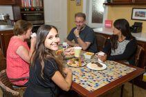 Eksempel på kategori af indkvartering er leveret af Kaplan International Languages
