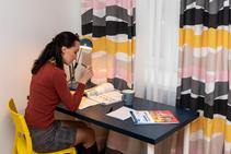 Eksempel på kategori af indkvartering er leveret af Liden & Denz Language Centre