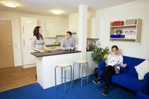Eksempel på kategori af indkvartering er leveret af Meridian School of English - 2