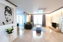 Eksempel på kategori af indkvartering er leveret af Rolling Korea