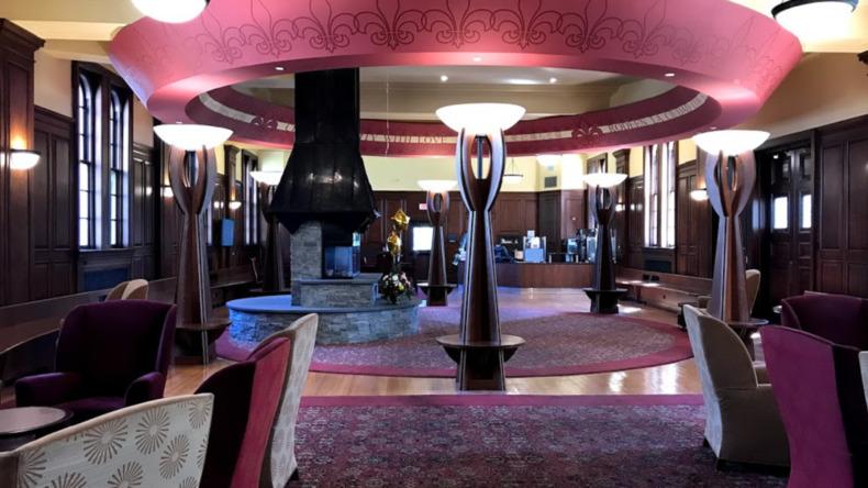 FLS - Chesnut Hill College lounge