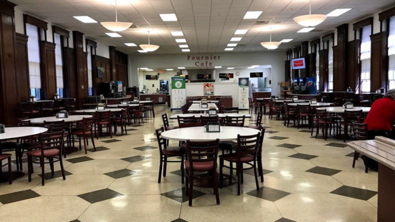 FLS - Chesnut Hill College cafe