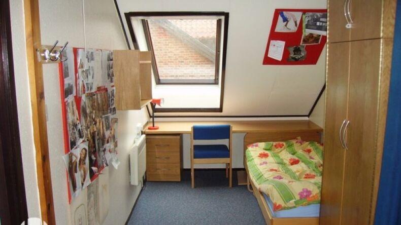Enkelt soveværelse