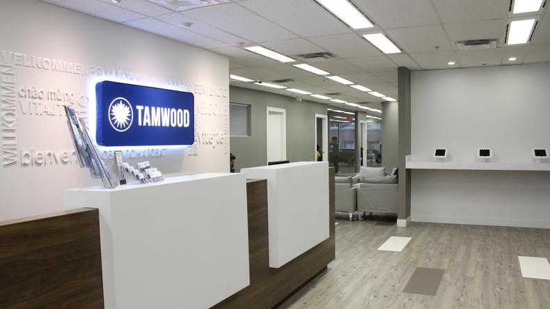 Tamwood Language Centre Vancouver reception