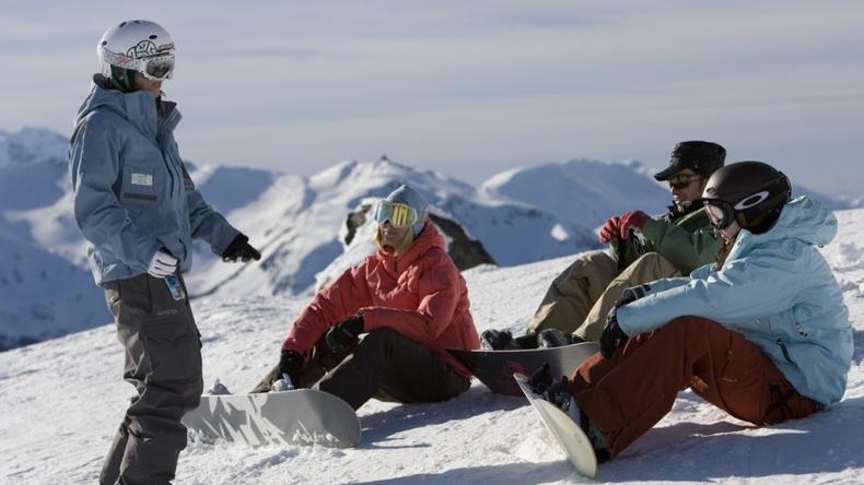 Stå på ski i Vancouver