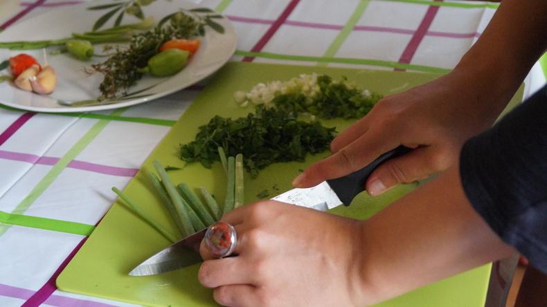 料理を作る