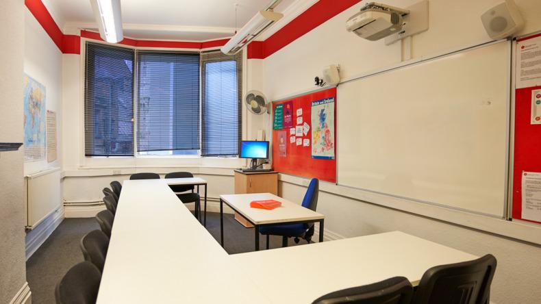 British Study Center -luokkahuone