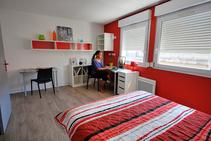 Stúdió diákszállón, Accent Francais, Montpellier