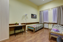 Közös használatú lakás, Derzhavin Institute, Szentpétervár