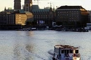 Boat tour on the Alster