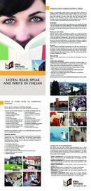 Centro Studi Idea Verona Brožura (PDF)