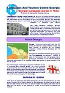 Languages And Tourism Centre Georgia Brochure (PDF)