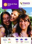 Hispania, escuela de español Katalog (PDF)