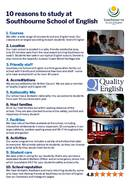 Southbourne School of English Broschyr (PDF)