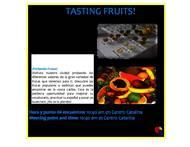 تذوق الفاكهة في قرطاجنة