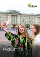 Embassy Summer Pricelist 2020