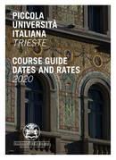 Guia do Curso e Taxas da Escola 2020