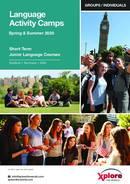 Xplore Language Junior Summer School Broschyr (PDF)