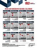 LAB Vancouver Kalender 2020
